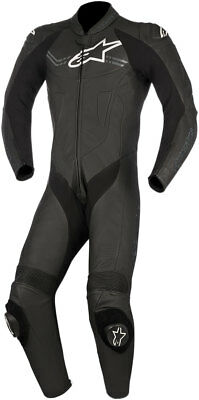 Alpinestars CHALLENGER v2 1-Piece Leather Riding Suit (Black) Choose Size