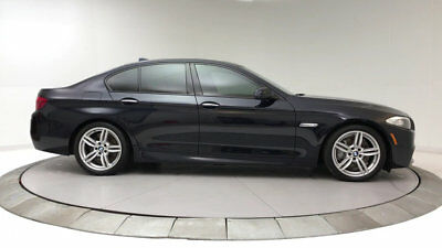 2013 BMW 5-Series 550i 550i 5 Series 4 dr Sedan Gasoline 4.4L 8 Cyl Carbon Black Metallic