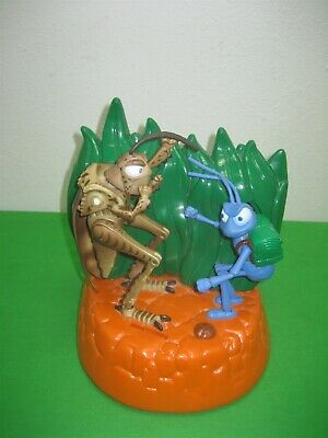 Vintage Disney Pixar Thinkway Thinking Grasshopper & Bug's Life Animated w Sound