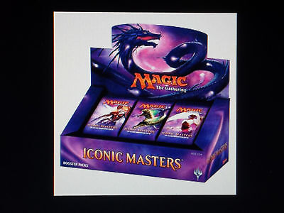 Pre-order ICONIC MASTERS Case(4 Boxes) FREE PRIORITY Shipping Nov. 17th Sealed!
