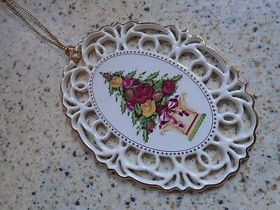 Royal Albert Old Country Roses Christmas Tree Ornament