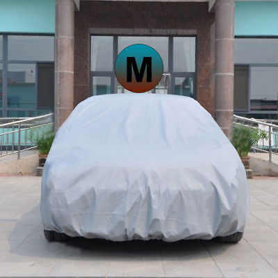Universal Waterproof Sun UV Resistant Full Car Cover Anti-Scratch Dust Protect M