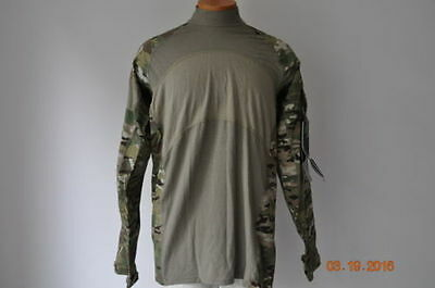 Massif Us Military Army Issue Combat Shirt Multi-Cam Large New W/tags