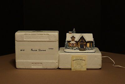 Thomas Kinkade - Hawthorne Village - Police Station Sculpture