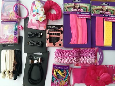 Wholesale Girls Hair Accessories 144 Units Head Bands Etc Rrp £345