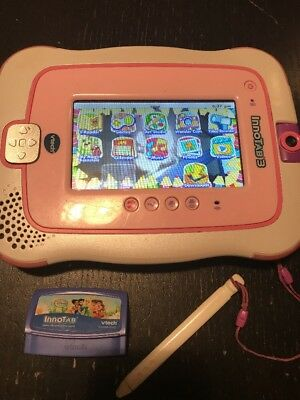 VTECH InnoTab 3 S KIDS WI-FI LEARNING TABLET PINK. W/ Disney Princess Game!