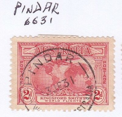 *WA POSTMARKS.PINDAR.PO1923-72.Type A27.On 2d commem.Rated2>3.*