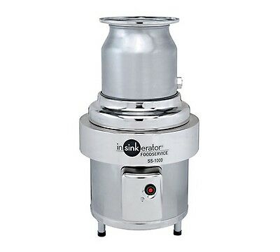 Waste disposer, In-Sink, basic unit only, 10 HP, Stainless, INSinkErator SS-1000