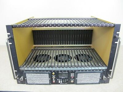 BiRa Systems CAMAC Crate Bin w/o Power Supply