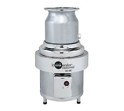 Waste disposer, In-Sink, basic unit only, 5 HP, Stainless, INSinkErator SS-500