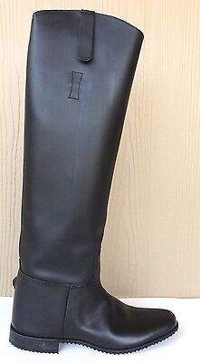 ELITE Leather Equestrian Riding Boots SIZE 7 N - NEW Made in USA