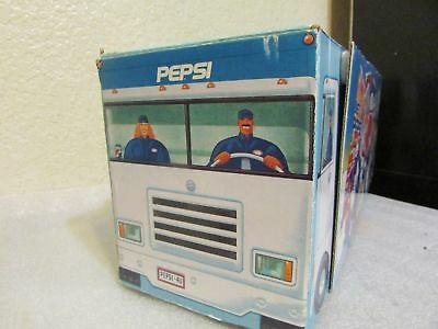 Pepsi Promotional Semi Truck Collectible Holiday Party Bunch WITH Cans!