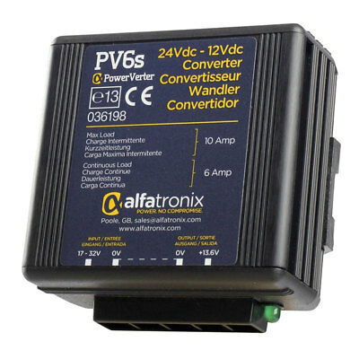 Alfatronix PV6S 24VDCVDC Converter Non-Isolated (Common Earth)