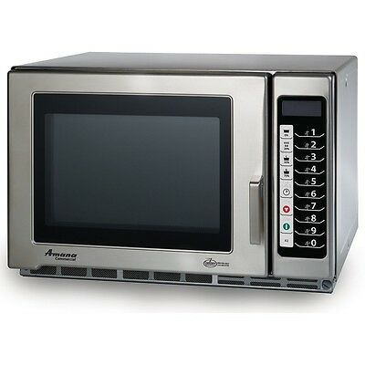 Microwave Oven, Amana Commercial, 1200 Watts, Model RFS12TS