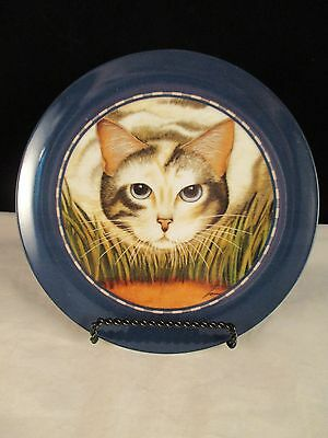 Calico Cat Plate Herrero Collection 1991 Made in Japan