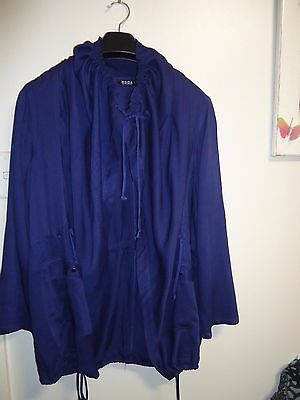 Plus Size Purple Moda Casual Pants Suit 2 Piece Set Size 16 Jacket & Pants