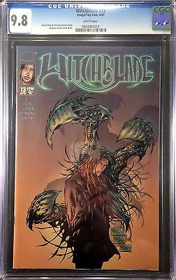 Witchblade (1995) #13 CGC 9.8 white pages Michael Turner cover (0804921013)