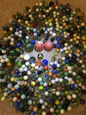 Mixed Lot Of Approx.3 kg of Vintage Marbles