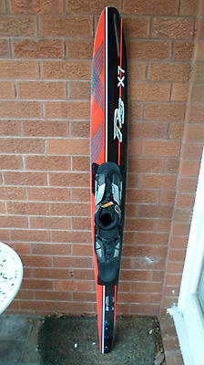 "Water Ski,d3 X7 Comp Level Slalom Ski 67"".radar Vector Front Boot,artp.brand New"