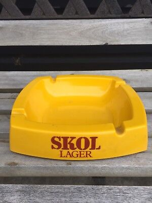 Skol Lager Melamine Ashtray