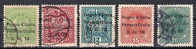 Austria Occupation Trieste - Overprint Collection Used