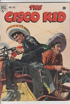 1951 CISCO KID  No 6 Dell Comic Books Robin Hood Of The West 10 Cent