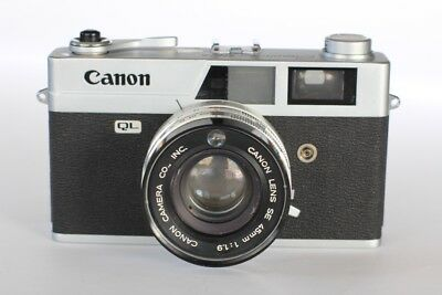 Canon Canonet QL19 35mm Film Camera