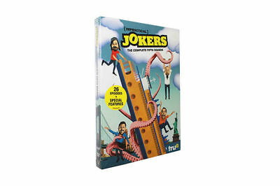 Impractical Jokers The Complete Fifth Season 4DVD Free shipping NEW