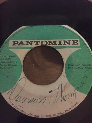 "Original Ja Pantomime 7"" Glen Brown"" Youth Of Today"" Listen"