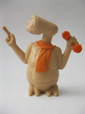 E.T. THE EXTRATERRESTRIAL PHONES HOME 1982 LJN TOYS figure about 2.25 inchs tall