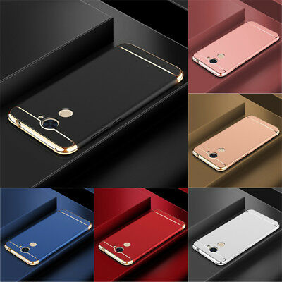 For Huawei Y7 2017/Y7 Prime Luxury Shockproof Electroplate Hard Back Case Cover
