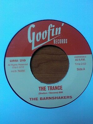 The Barnshakers - The Trance/let Me Tell You.. - Fantastic Finnish Rockabilly 45