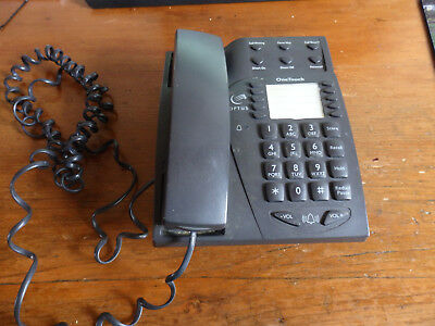 Optus OneTouch Wall Mounted Push Button Phone.