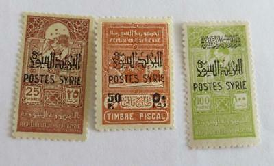 Syria 1945 small collection unused