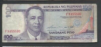 Philippines ND (1998) 100 Piso P 184a Circulated