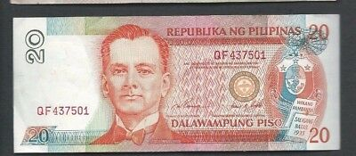 Philippines ND (1997) 20 Piso P 182a Circulated