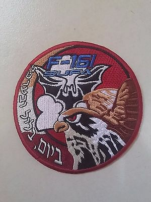 Iaf Israel Air Force F-16I Sufa The Bats Squadron Swirl Patch