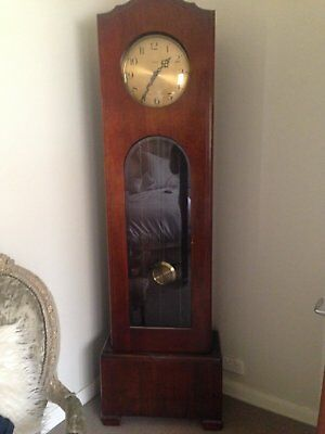 1930s Enfield WestMinster Chime Grandfather Clock