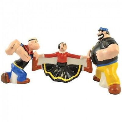 Popeye Collectable Salt & Pepper Shakers, NEW