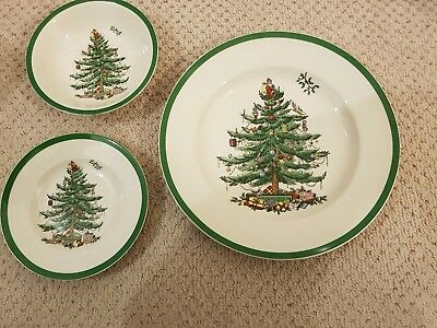 Spode CHRISTMAS TREE place setting brand new
