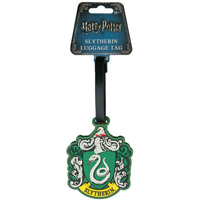 Harry Potter - Slytherin Luggage Tag NEW