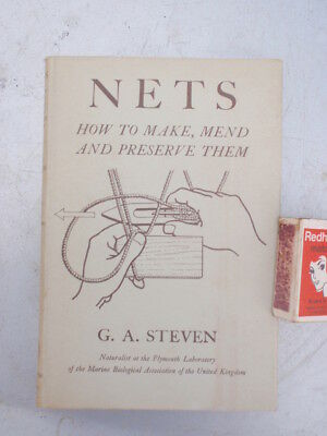 Nets  Make Mend  & Preserve them Illustrated 125 pages