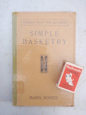 Basketry Work  Illustrated  1930,   90 pages