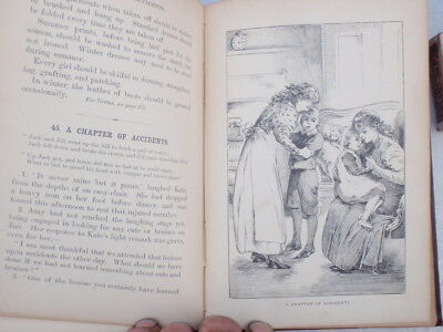 "1895 School reader ""girls at Home"""