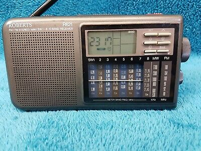 sony am fm stereo radio srf s84 boxed with instructions picclick uk. Black Bedroom Furniture Sets. Home Design Ideas