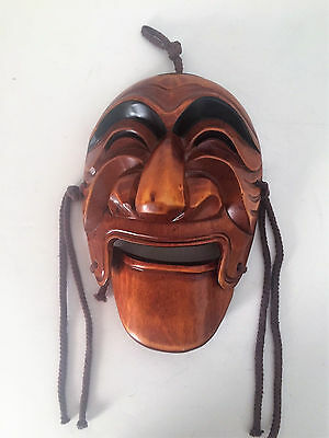 Korean Traditional Hahoe Mask - Wood Carved