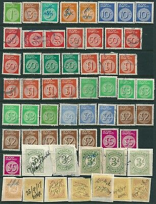 Victoria , 58 mainly Decimal Stamp Duty , Revenue / Tax stamps , main used .(N)