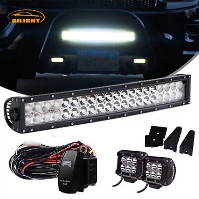 22 Led Light Bar 2x 4 Pods For Golf Cart Diy Ezgo Club Car