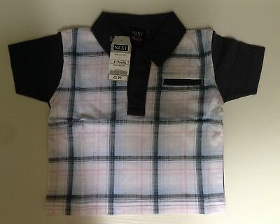 Next baby boy 6-9 months Polo Shirt