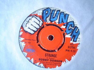 Uk Punch Ph 4-Bobby Dobson-Strange/your New Love-Nr Ex